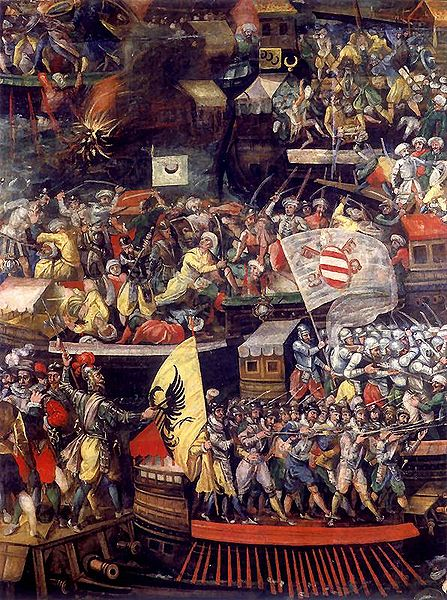 lepanto muslim The battle of lepanto was a decisive christian naval victory on october 7, 1571  the victory of the west: the great christian-muslim clash at the battle of lepanto (2007) excerpt and.