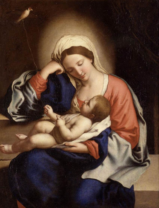 Madonna with the Christ Child_SASSOFERRATO
