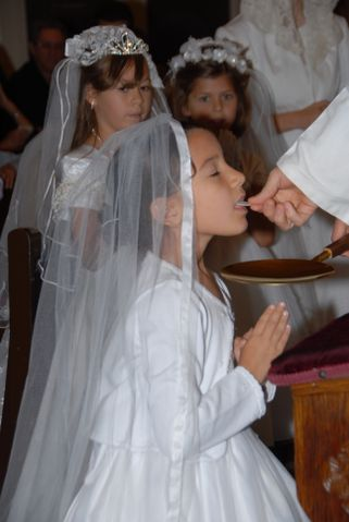 Phoenix SSPX First Holy Communion