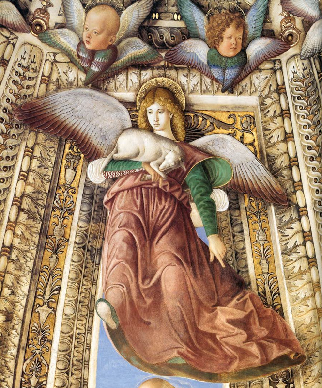 Angel with a Lamb_MELOZZO DA FORLI 2