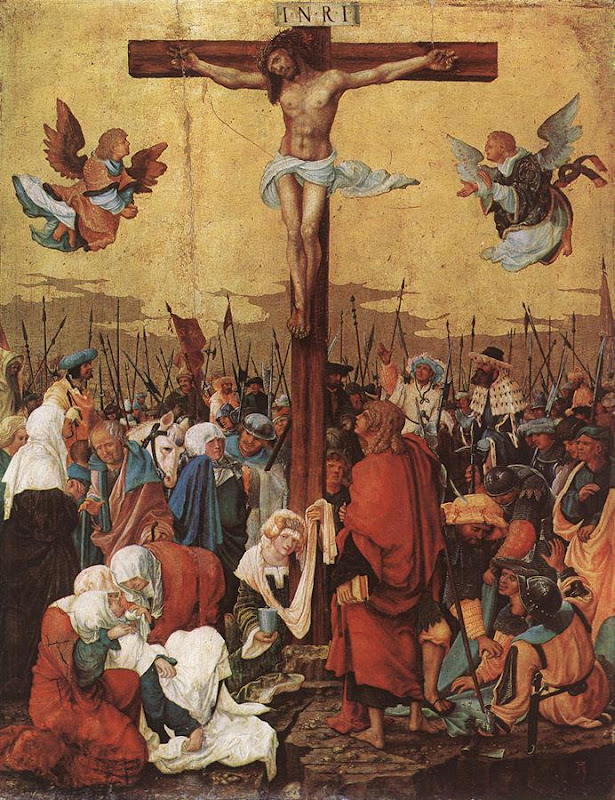 Crucifixion_Christ on the Cross_ALTDORFER, Albrecht