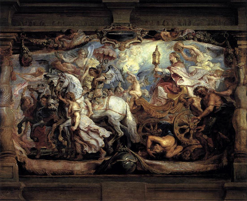 Triumph of the Church over Fury Discord Hate_RUBENS, Pieter Pauwel