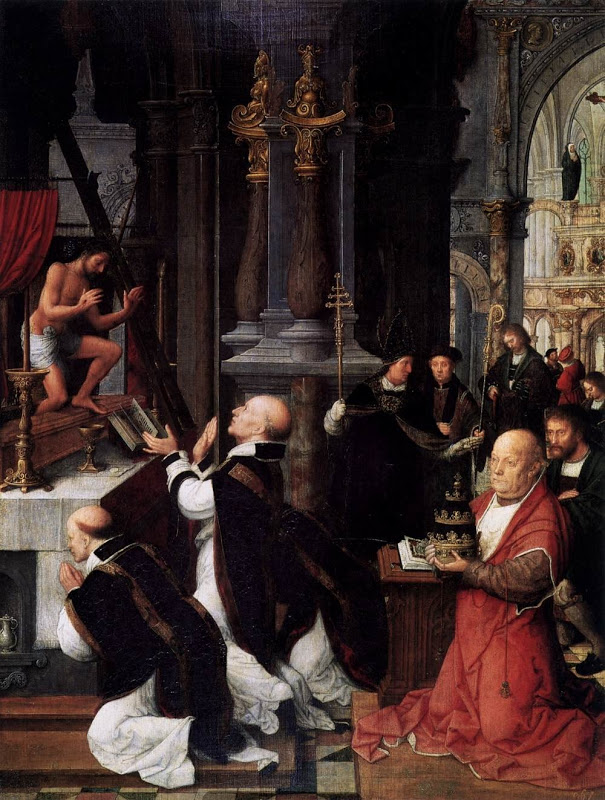 Gregory, mass of_ISENBRANT, Adriaen