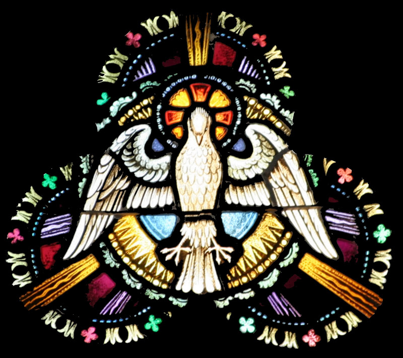 Holy Ghost_stained glass