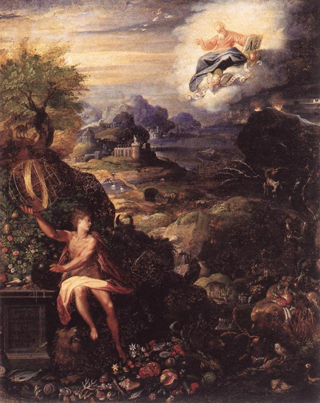 Creation_Allegory of_ZUCCHI, Jacopo