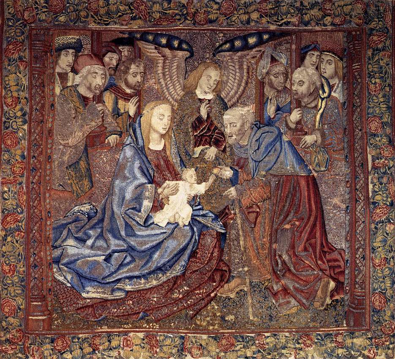 Holy Family_UNKNOWN WEAVER, Flemish