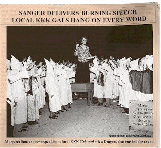 Margaret Sanger and KKK
