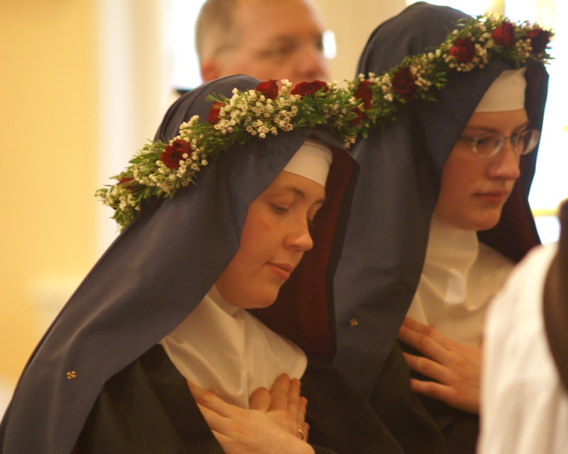 Benedictine Nuns_perpetual profession of vows
