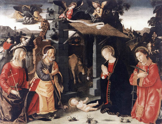 Birth of Christ_ANTONIAZZO ROMANO