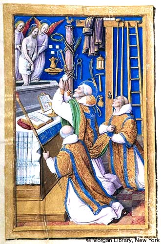 Jean Poyer_Hours of Henry VIII_Mass of St. Gregory_Tours_1500_h8.168r
