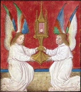 2 - Angels and monstrance