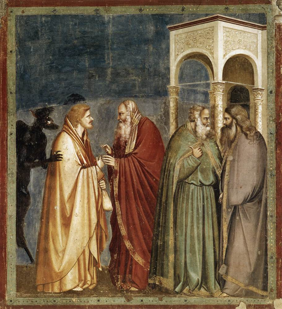 Judas Accepts the Bribe_Arena Chapel_Padua_1300-05
