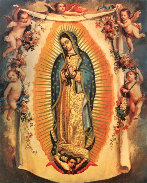 Our Lady of Guadalupe_painting