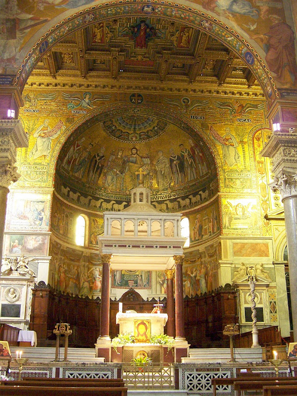 St Mary's Across the Timber_baldacchino