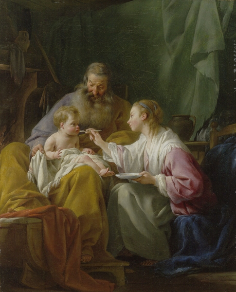 Holy Family_1753_Wadsworth Atheneum