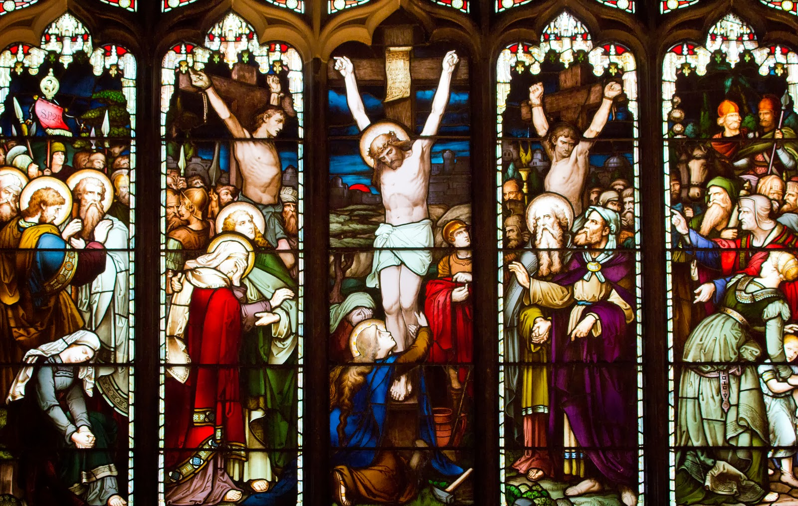 Crucifixion_stained glass4