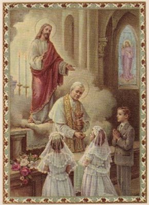 Holy Communion_holy card