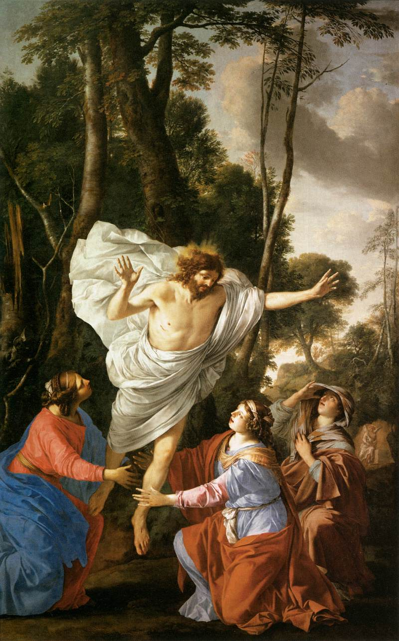 Jesus Appearing to the Three Marys_LA HIRE, Laurent de
