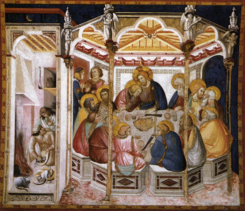 Last Supper_Pietro LORENZETTI