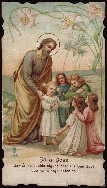 Go to Joseph I never asked any grace from St. Josheph that I did not obtain - Carmelite card