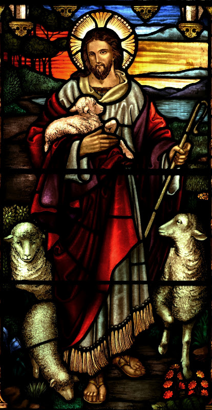 Good Shepherd_stained glass