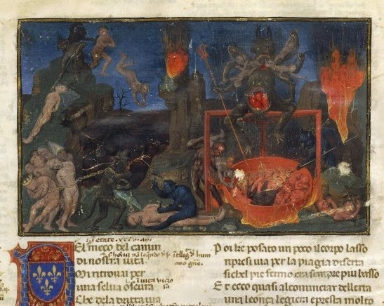 Master of Coetivy_Divine Comedy_Hell_France _Paris_1450-66_BNF_Italien 72_1