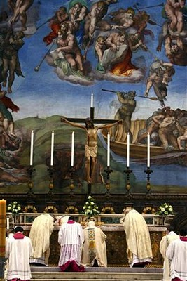 Pope Benedict XVI Baptism of the Lord