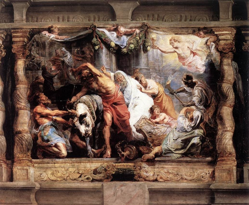 Victory of Eucharistic Truth Over Heresy_RUBENS, Pieter Pauwel
