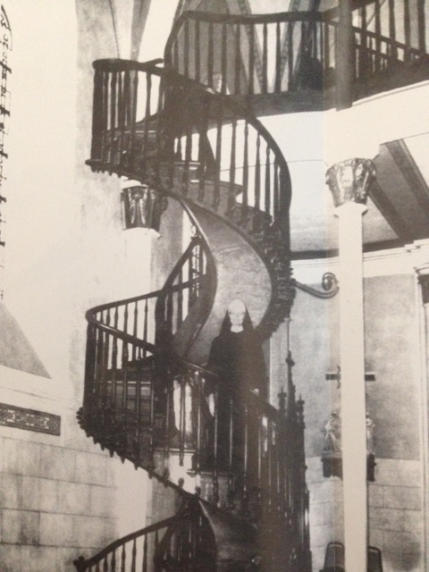 The Staircase Is A Complete Mystery Even Today By Architects, Engineers And  Wood Experts. It Makes Two Complete 360 Degree Turns As It Winds Up To The  Choir ...