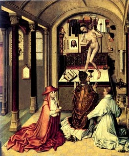 7 - Robert Campin Mass of S. Gregory - 1440