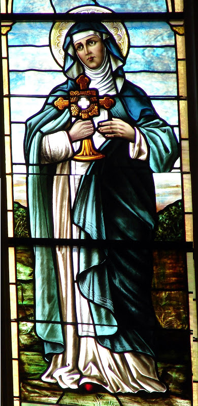 Clare_Stained Glass