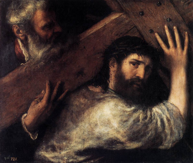 Cross_Christ Carrying_TIZIANO Vecellio