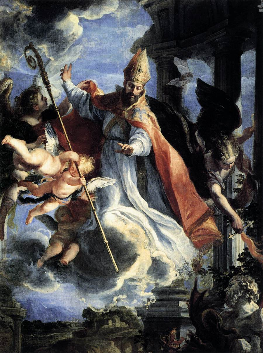 st augustine great sinner turned great saint traditional
