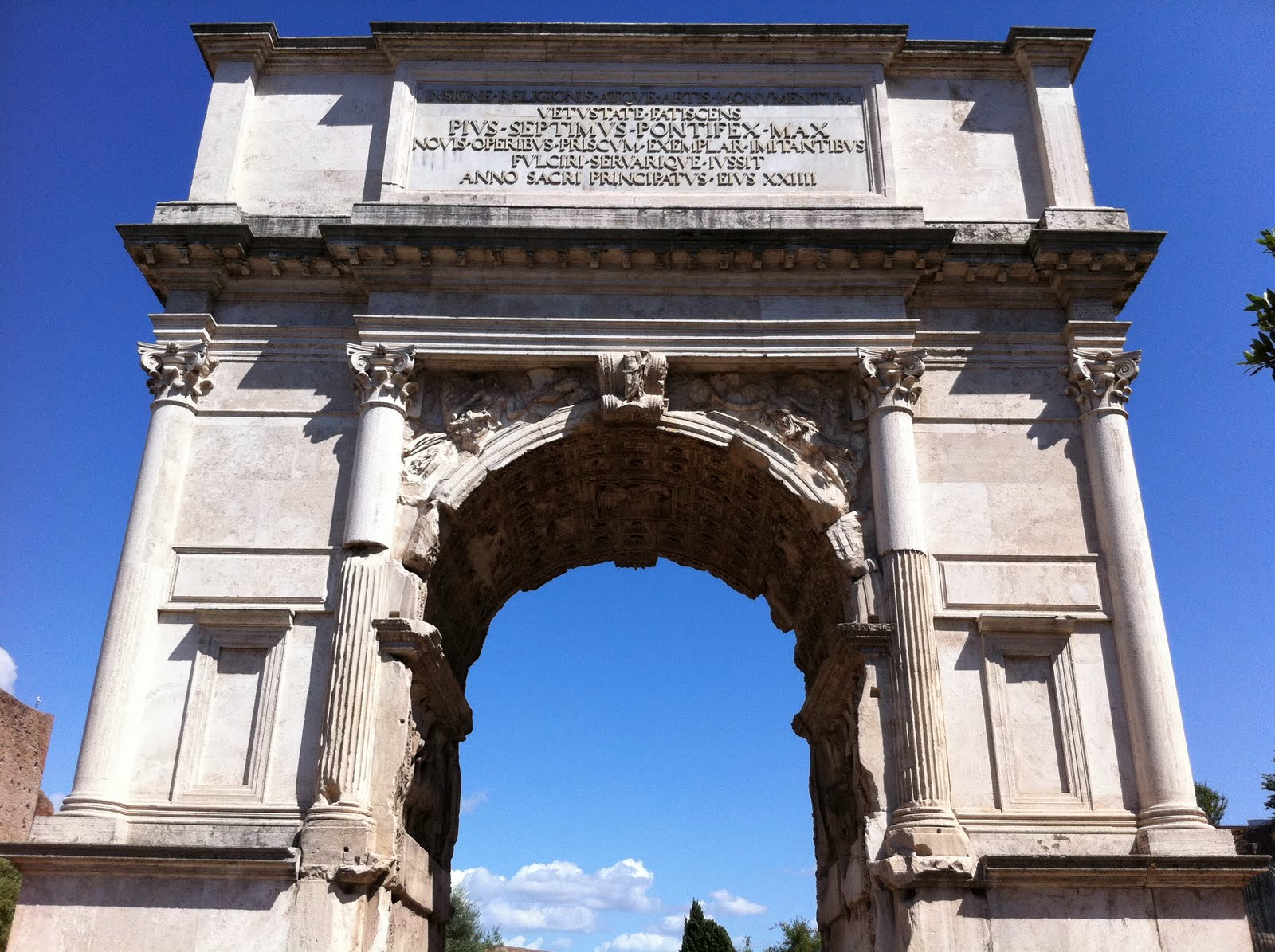 Opinions on arch of titus