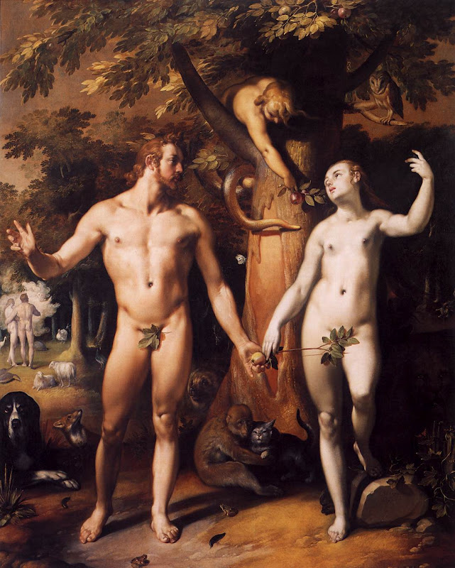 Fall of Man_CORNELIS VAN HAARLEM