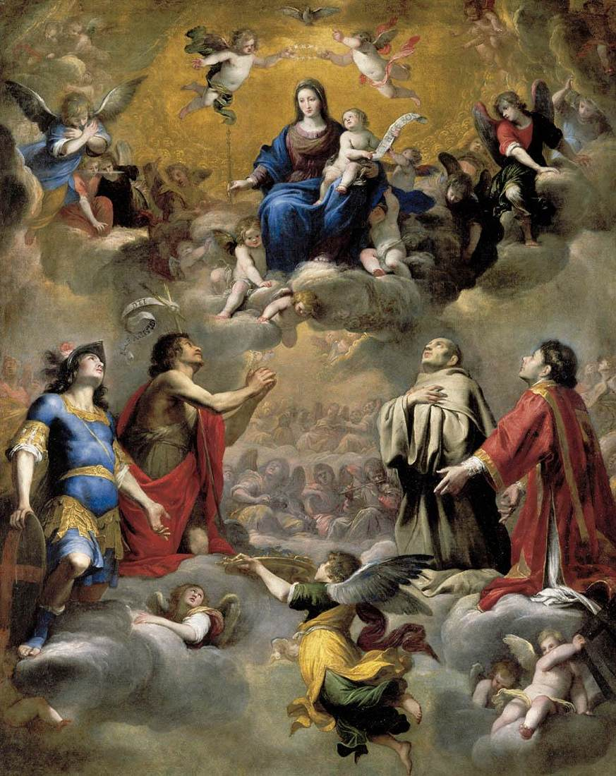 Virgin and Child in Glory with Saints_CARLONE, Giovanni Battista