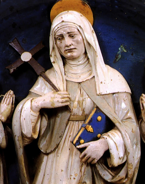 Bridget of Sweden_statue