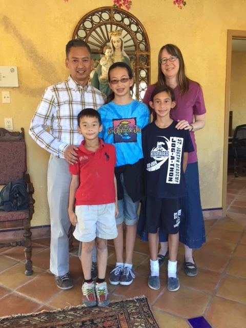 Visit of Traditional Catholic Family From San Diego | Traditional