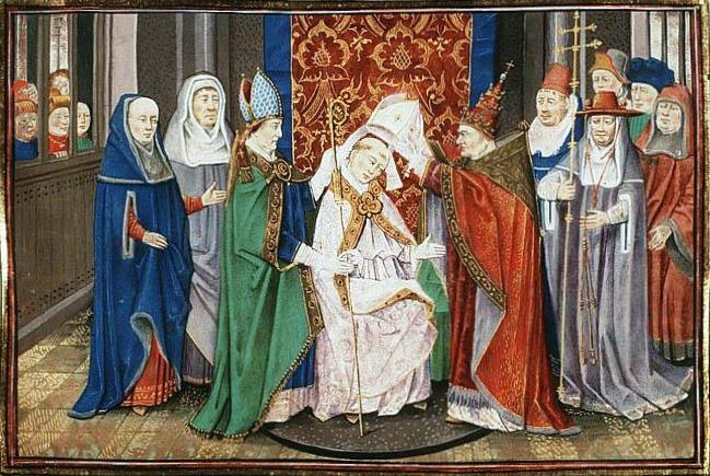 St_Hubert_of_Liège_is_consecrated_bishop_by_Pope_Sergius