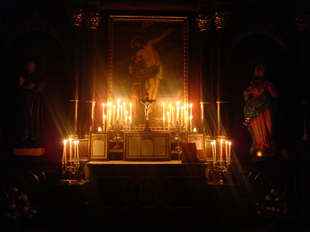 Advent_Rorate Mass_high altar