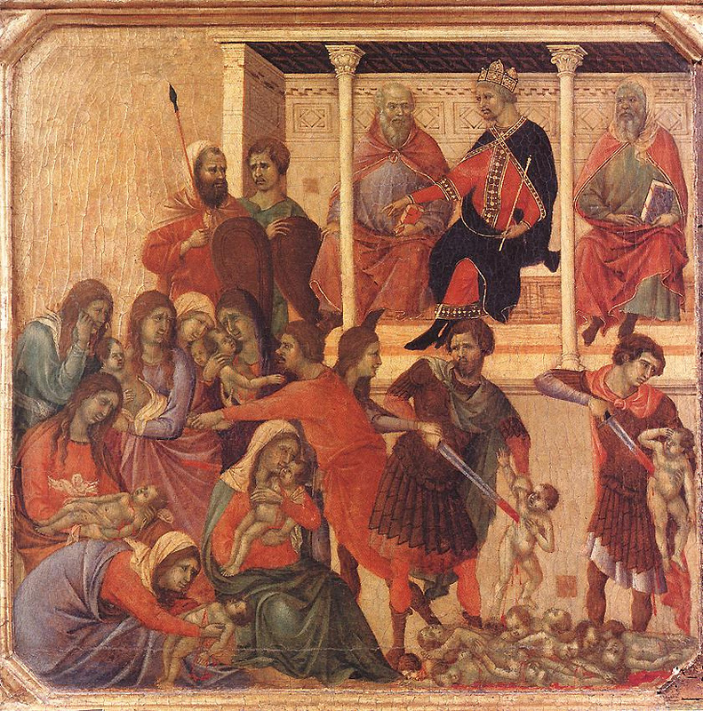 Holy Innocents_DUCCIO di Buoninsegna