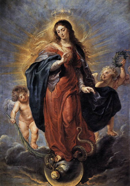 Immaculate Conception_RUBENS, Peter Paul