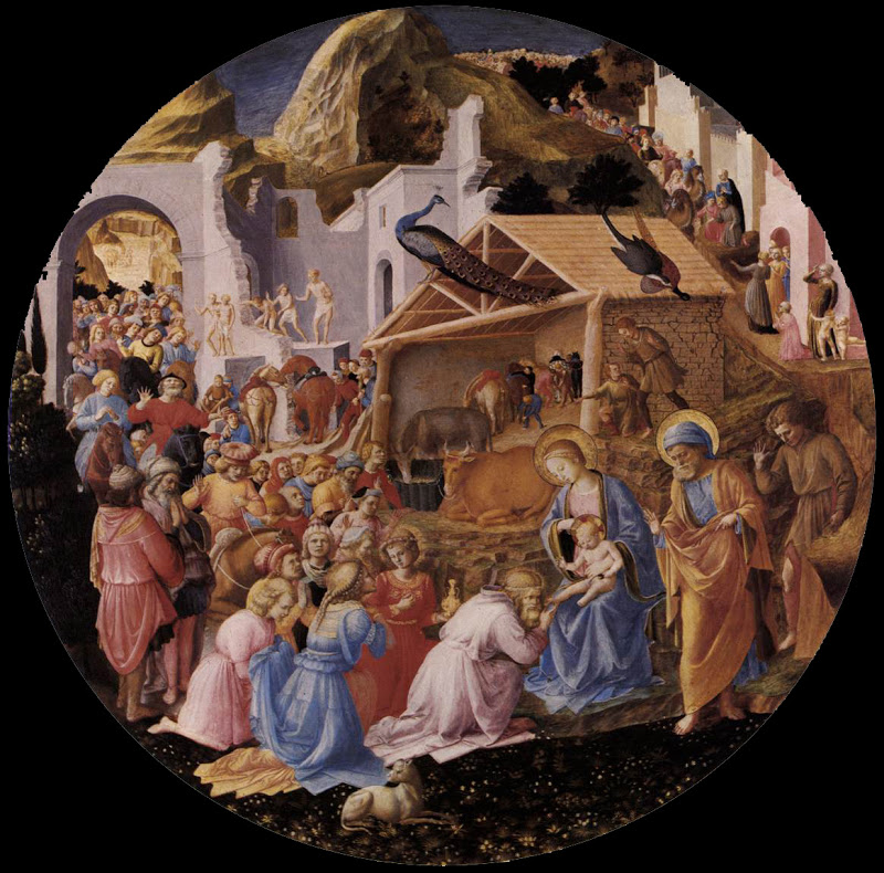 Adoration of the Magi_ANGELICO, Fra