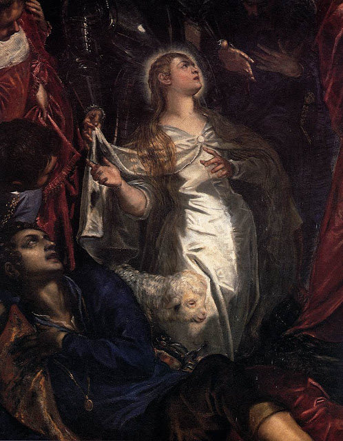 Agnes_Miracle of_TINTORETTO