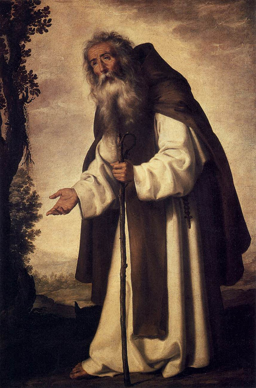 Anthony_Abbot_ZURBAR_N_Francisco_de
