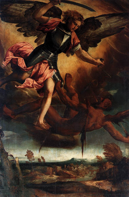 Michael_Vanquishing the Devil_BONIFACIO VERONESE