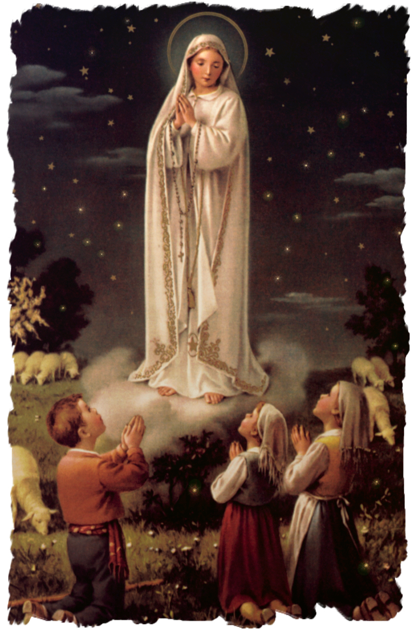 the history behind the famous image of our lady of fatima at fatima portugal Thousands of catholics flock to see our lady of fatima statue in dallas area the famous statue, dear to of mary to three children in fatima, portugal.