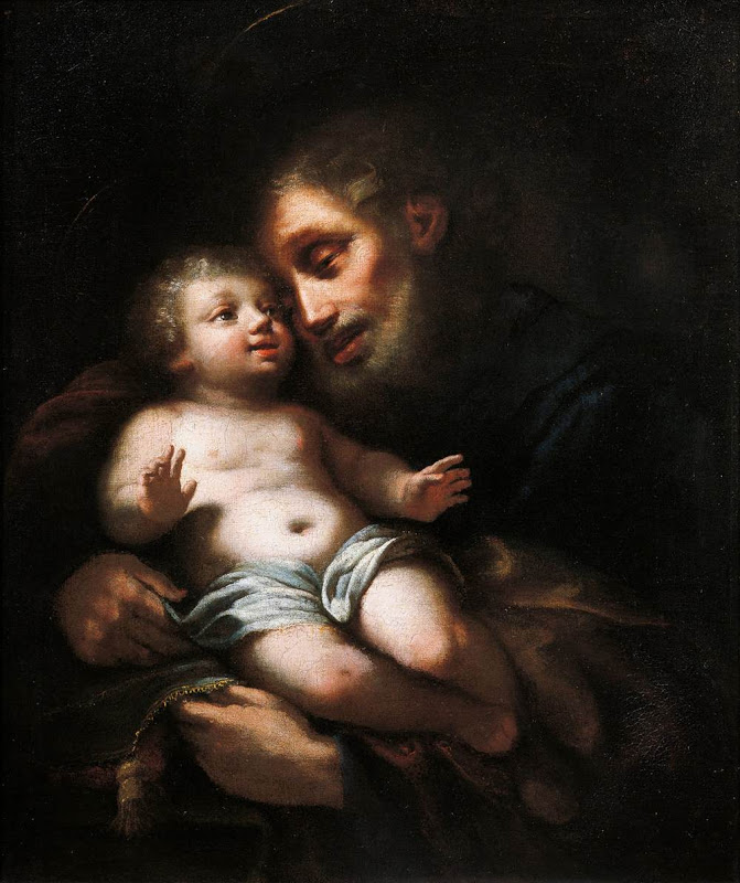Joseph_and the Christ Child_CONTI, Francesco