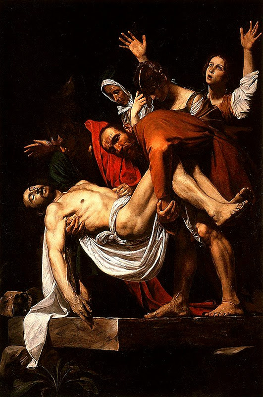 Entombment of Christ_Caravaggio