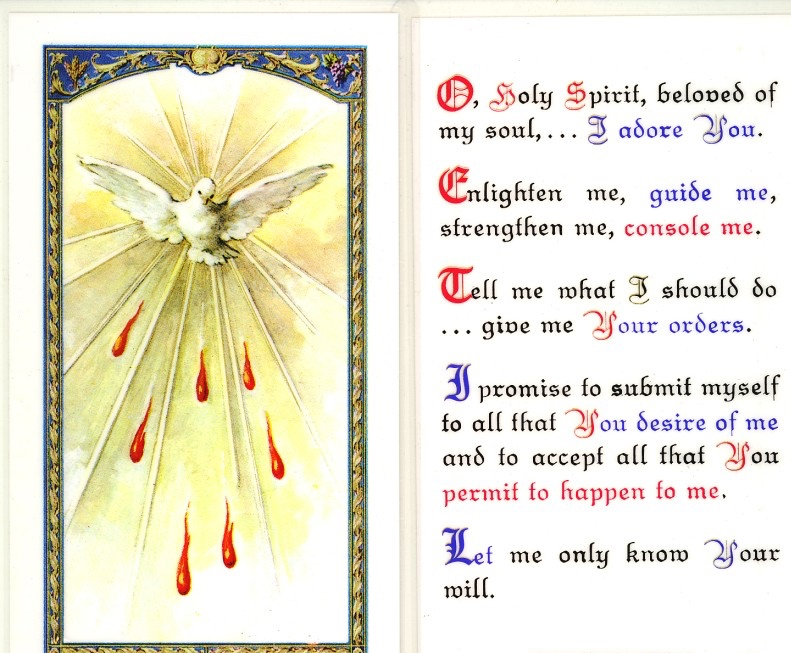 Traditional Catholic Holy Spirit Of Love | Traditional
